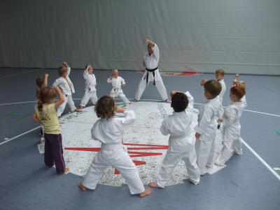 Training Mittwochs GHTC BONSAI KARATE